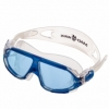 Очки-полумаска для плавания MadWave Sigyt II синие (M046301_BL-WHT)