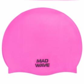 Шапочка для плавания MadWave Lihgt розовая (M053503_PNK)