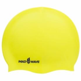 Шапочка для плавания MadWave Lihgt желтая (M053503_YEL)