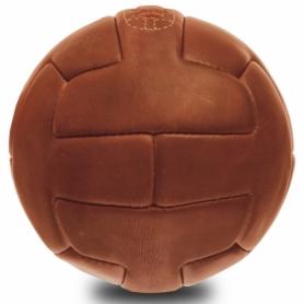 Мяч футбольный кожаный Vintage (F-0248) - коричневый, №5