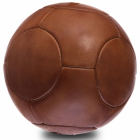 Мяч футбольный кожаный Vintage, 14 панелей (F-0252), №5