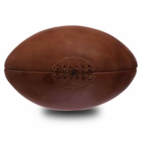 Мяч для регби кожаный Vintage Rugby ball (F-0264), 4 панели
