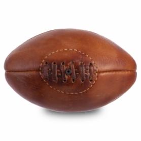 Мяч для регби сувенирный кожаный Vintage Mini Rugby ball (F-0266), 4 панели