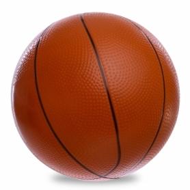 Мяч баскетбольный резиновый Legend (BA-1905), коричневый