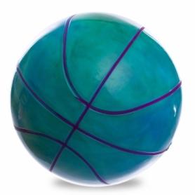Мяч баскетбольный резиновый Legend (BA-1910), синий