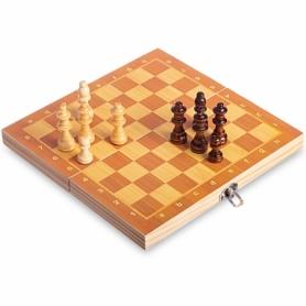 Шахматы деревянные на магнитах W6701, 24х24 см