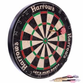 Дартс классический из сизаля Lets Play Darts Game Set JE01D, 45 см