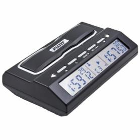 Часы шахматные электронные Flott F908 пластик, черный