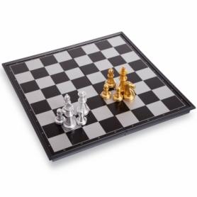 Шахматы дорожные пластиковые на магнитах 3810-A, 24,5x12,5х3,5 см