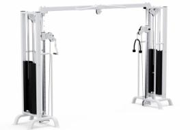 Тренажер кроссовер  с регулируемой тягой 2*105 кг  Haukka K261