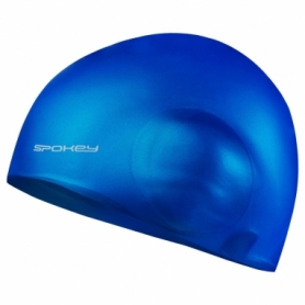 Шапочка для плавания с ухом Spokey Earcap 927898 (SL927898) - синяя