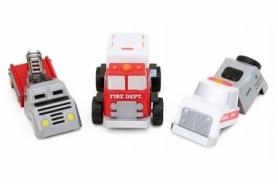 Детский конструктор Popular Playthings машинка (полиция, скорая помощь, пожарная)