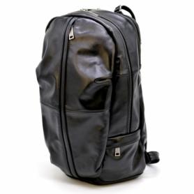 Рюкзак городской кожаный Tarwa (GA-7340-3md), черный