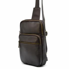Мини-рюкзак кожаный Tarwa (GC-0904-3md), коричневый