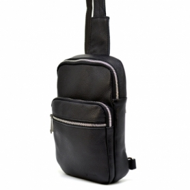 Мини-рюкзак кожаный Tarwa (FA-0904-4lx), черный