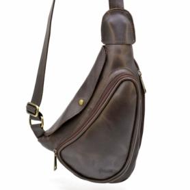 Рюкзак городской кожаный Tarwa (TC-3026-3md), черный