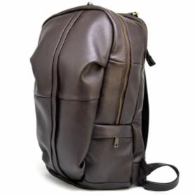 Рюкзак городской кожаный Tarwa (GC-7340-3md), коричневый