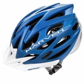 Велошлем защитный кросс-кантрийный Meteor Marven SL24782-1 - синий