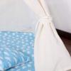 Детская палатка (вигвам) Springos Tipi XXL TIP05 White/Sky Blue - Фото №3