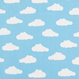Детская палатка (вигвам) Springos Tipi XXL TIP05 White/Sky Blue - Фото №6