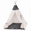 Детская палатка (вигвам) Springos Tipi XXL TIP01 White/Black