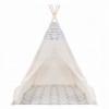 Детская палатка (вигвам) Springos Tipi XXL TIP14 White/Mix - Фото №5