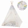 Детская палатка (вигвам) Springos Tipi XXL TIP14 White/Mix - Фото №10