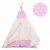 Детская палатка (вигвам) Springos Tipi XXL TIP09 White/Pink - Фото №2