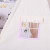 Детская палатка (вигвам) Springos Tipi XXL TIP09 White/Pink - Фото №8