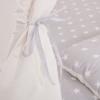 Детская палатка (вигвам) Springos Tipi XXL TIP07 White/Grey - Фото №7