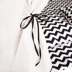 Детская палатка (вигвам) Springos Tipi XXL TIP02 White/Black - Фото №8