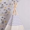 Детская палатка (вигвам) Springos Tipi XXL TIP03 White/Grey - Фото №2
