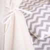 Детская палатка (вигвам) Springos Tipi XXL TIP03 White/Grey - Фото №10