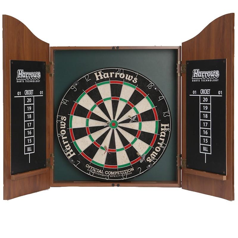 Дартс с кабинетом для мишени Pros Choice Combo Set JE14D, 45 см