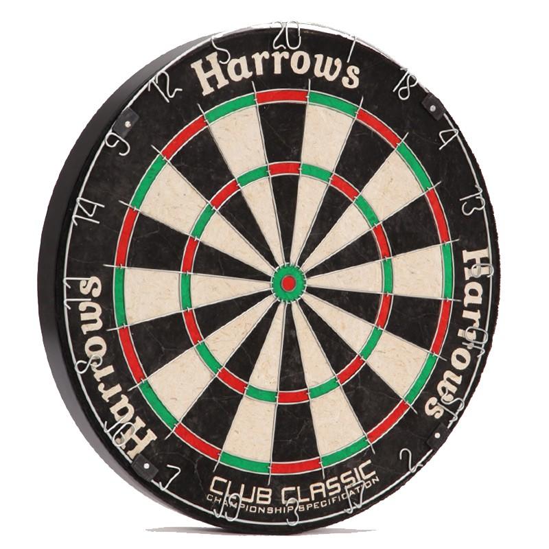 Дартс классический из сизаля Club Classic Dartboard JE06D, 45 см