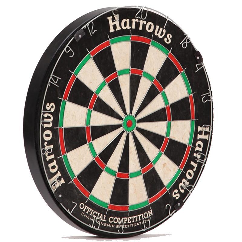 Дартс классический из сизаля Official Competition Dartboard JE03D, 45 см