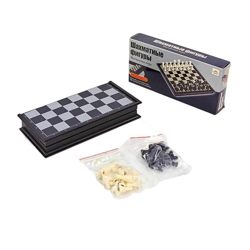 Шахматы дорожные пластиковые на магнитах SC5477, 19x19 см