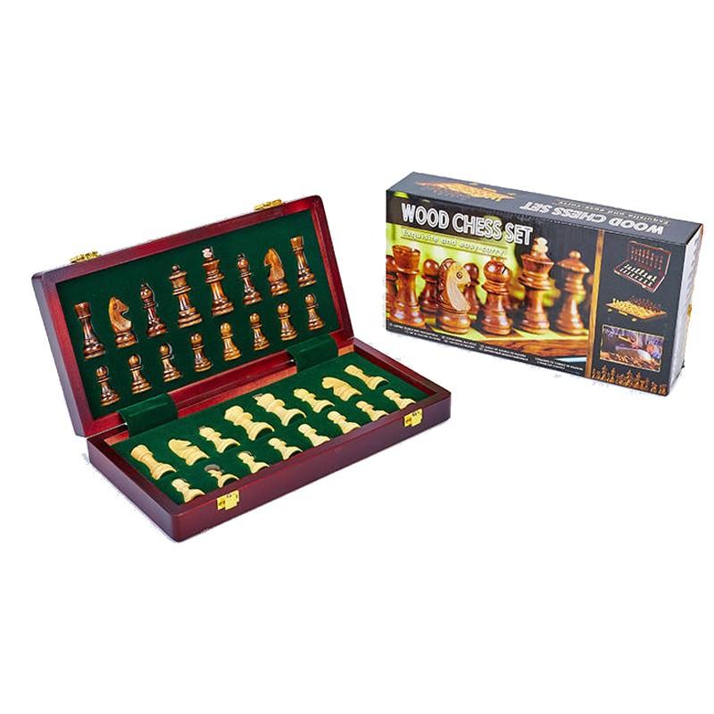 Шахматы деревянные Zoocen X3008, 30х30 см