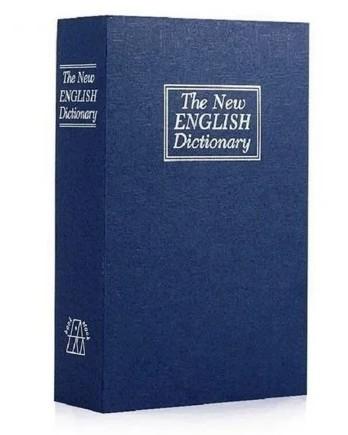 Книга сейф CDRep Английский словарь (FO-103063) - синяя, 18 см