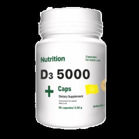 Витамины EntherMeal D3 5000 ABPR81, 60 капсул