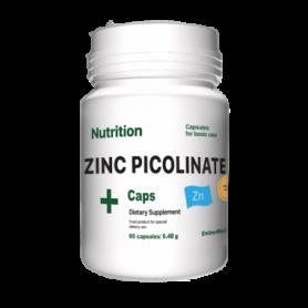 Минеральный комплекс EntherMeal Zinc Picolinate ABPR85, 60 капсул