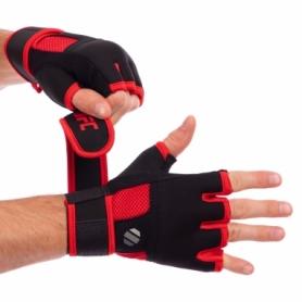 Перчатки-бинты внутренние гелевые из неопрена UFC Contender UHK-69412 черные