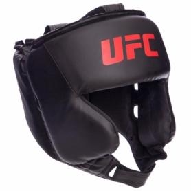 Шлем боксерский в мексиканском стиле PU UFC UHK-69759, черный (M)