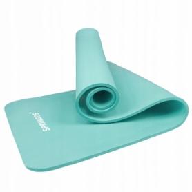 Коврик для йоги (йога-мат) Springos NBR YG0031, мятный
