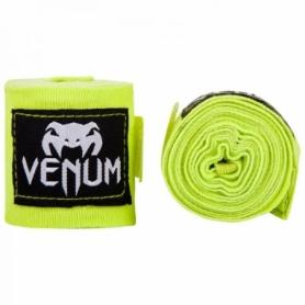 Бинты боксерские эластичные Venum Original Kontact, салатовые