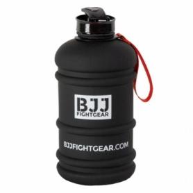 Бутылка для воды BJJ Fightgear, черная