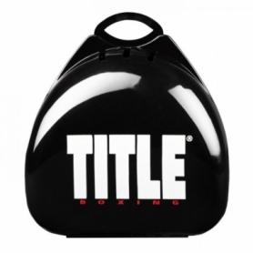Коробка для капы Title Boxing Deluxe, черная