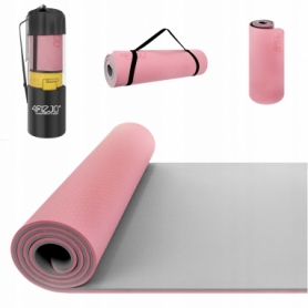 Коврик для йоги (йога-мат) 4FIZJO TPE 4FJ0200, розовый