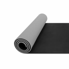Коврик для йоги (йога-мат) 4FIZJO TPE 4FJ0203, серый - Фото №3