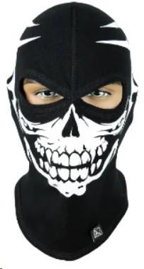 Балаклава с черепом Rough Radical Scull S1, маска, подшлемник